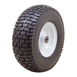 "Marathon Industries - Flat Free Power Equipment Tire with Turf Tread, 13 x 5.00-6"" - Marathon Industries 13 x 5.00-6"" Flat Free Power Equipment Tire"