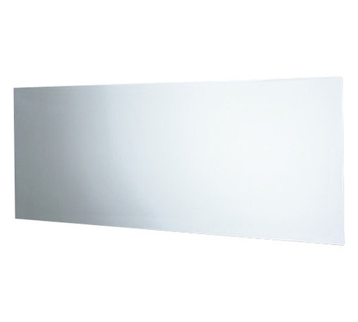 Gedy - Polished Edge Mirror with Vertical and Horizontal Mounting - Made with a polished reflective surface protective by a glass front. This wall rectangle vanity mirror (part of the Gedy Planet collection) compliments your contemporary personal bath. Designed and built in Italy by Gedy. Gedy wall vanity mirror. From the