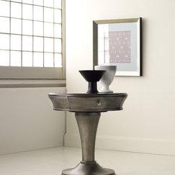Hooker Furniture - Hooker Furniture Melange Affinity Pedestal Table 638-90003 - One drawer