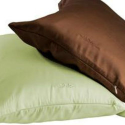 BedVoyage - Bamboo Travel Pillowcase, Sage - Airline travel is trying at best, but what's up with that little pillow they hand out? Bring your own pillowcase and turn their less than comfortable pillow into a soft, silky resting place for your head. Now for the food ... .