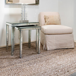 Bora Bora - Our Bora Bora jute weave offers a super-thick and chunky texture, in a distinct braided style.