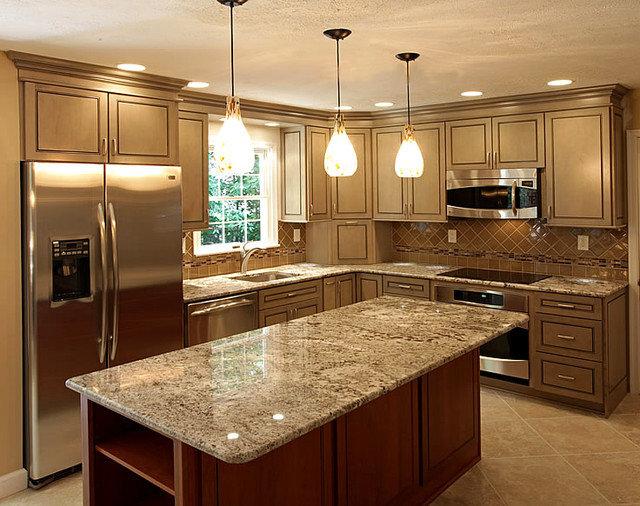 Traditional Kitchen by Dynasty Innovations LLC