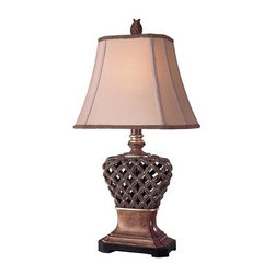 Ambience - Ambience AM 10835 Traditional/Classic Table Lamp - *1-150W Medium Base Bulb (Bulb Not Included)
