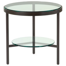 Traditional Outdoor Side Tables by McGuire Furniture Company