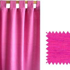 Chandni Chowk Abarsh Curtains, hand spun & hand woven khadi cotton. Hand made in