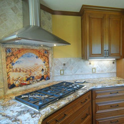 Kitchen Backsplash Mural Products on Houzz