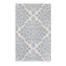 Candice Olson Modern Classics Rug by Surya - Off White, Gray Blue, Ivory - Bed B