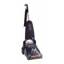 Bissell PowerLifter PowerBrush Deep Cleaning Carpet Cleaner 1622 - The Bissell PowerLifter PowerBrush Upright Vacuum 1622 makes giving your carpets and area rugs a deep-down cleaning quick and easy. Its big 15-inch cleaning path lets you cover your carpet faster while the 20-foot cord lets you cover more area before having to unplug and move to a new outlet.Additional Features:Overall dimensions: 19W x 11D x 44H inchesExtends life of carpet by removing deep-down dirtBuilt-in measuring cup2-in-1 tank never allows dirty and clean water to mixComfortable handle; easy-to-maneuver wheelsQuick-release cord hooks20-foot cord allows more cleaning spaceTank capacity: .75 gal.Weight: 16.4 lbs.1 year limited warrantyAbout BissellMelville Bissell patented the BISSELL carpet sweeper in 1876 once of the first mechanical sweepers ever conceived. Shortly after he built the first Bissell manufacturing plant in Michigan and began assisting Americans and the world suck it up and tackle the confounding and unhealthy problem of dust-laden carpets and floors. Remaining a technology and trend innovator in the field of home cleaning solutions for the next 100+ years Bissell remains committed to bringing you the most advanced effective and practical solutions for keeping your home clean.