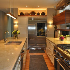 Traditional Kitchen by Sarah Dippold Design