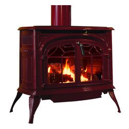 Vermont Castings - Vermont Castings RADVTBD Radiance Direct Vent Gas Burning Stove - Majestic RADVTBD--Radiance Direct Vent - Bordeaux Enamel