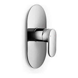 WS Bath Collections - WS Bath Collections Muci Shower Built-in Mixer - Features: