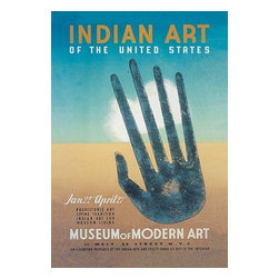 Buyenlarge.com, Inc. - Indian Art of the United States at the Museum of Modern Art- Paper Poster - Another high quality vintage art reproduction by Buyenlarge. One of many rare and wonderful images brought forward in time. I hope they bring you pleasure each and every time you look at them.