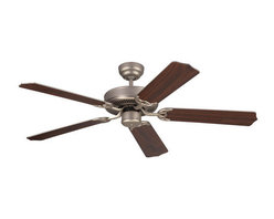 """Monte Carlo - Monte Carlo Homeowner Max 5 Bladed 52"""" Energy Star Rated Indoor Ceiling Fan - Bl - Features:"""