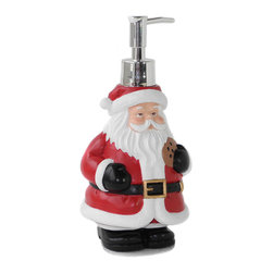Dream Bath - Dream Bath Santa Claus Soap Dispenser/Lotion Dispenser - Dream Bath focuses exclusively on the design and creation of exquisite and practical accessories.