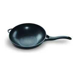 """Beka - Beka 13"""" Lotus Wok - Bekadur Expert Non-Stick - Beka Woks are versatile, perfect for fast and high heat stir fry cooking and used in both Asian and European cooking styles. Because of a woks highly curved sides, food cooks uniformly over high heat with very little fat, making it the ideal cooking utensil for healthy cooking.  Vegetables cooked in a wok over high heat also maintain their nutritional value, taste and color!  That is why food prepared in the wok contains few calories and cholesterol, except when it is deep fried.  Beka Woks are perfect for noodles, vegetables, meat and fish�all in one pan"""