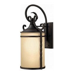 Hinkley Lighting - Hinkley Lighting 1145OL Casa Olde Black Outdoor Wall Sconce - Hinkley Lighting 1145OL Casa Olde Black Outdoor Wall Sconce