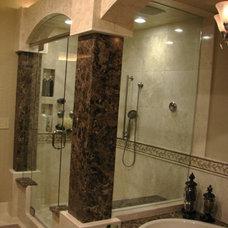 Traditional Bathroom by Allure Designs