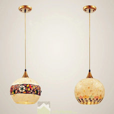 Mediterranean Pendant Lighting by Jollyhome