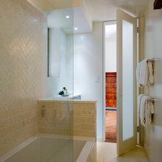 Modern Bathroom by MaryEllen Kowalewski Architect