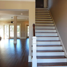 Traditional Staircase by David Weekley Homes