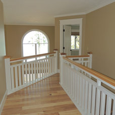 Craftsman Staircase by New Leaf Interiors