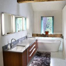 Industrial Bathroom by Bauhaus Custom Homes