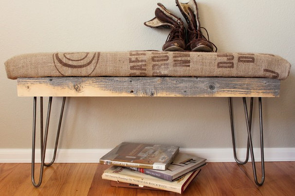 Modern Indoor Benches by JW Atlas Wood Co.