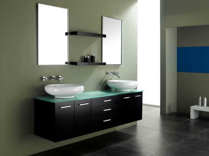 Contemporary Bathroom Vanities And Sink Consoles by Dayoris Custom Woodwork