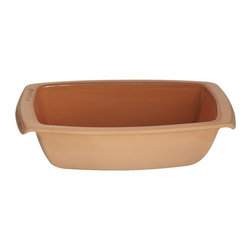Reston Lloyd - Reston Lloyd Romertopf Rectangular Bread Mold - 99250 - Shop for Bread Baking from Hayneedle.com! Bring the legacy of high-quality German-designed ceramics home with the Reston Lloyd Romertopf Rectangular Bread Mold an earthenware dish designed to produce the most delicious of homemade breads. Romertopf clays are designed to be soaked for optimum water saturation creating a moist oven environment and fresh bread with an especially crunchy texture.About Reston LloydA recent move to a larger facility in Sterling Virginia is the new home of Reston Lloyd corporate headquarters. A recognized and reliable company in the housewares industry Reston Lloyd offers a delightful variety of household items that are always in line with the most up-to-date trends of dinnerware manufacturers. Reston Lloyd's product line includes accessories that complement and further extend the products of companies such as Pfaltzgraff Corning and Disney. Since company president Rita Bolle held the first department store Clay cooking demonstration in 1968 Reston Lloyd had developed and flourished as an industry standard.