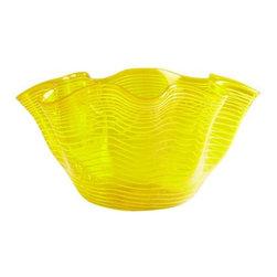 Yellow Scallop Bowl - Yellow Scallop Bowl