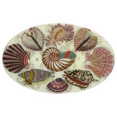 Eclectic Platters John Derian Decoupage Platter