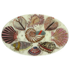 Eclectic Serving Dishes And Platters John Derian Decoupage Platter