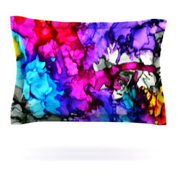"Kess InHouse - Claire Day ""Indie Chic"" Pillow Sham (Cotton, 30"" x 20"") - Pairing your already chic duvet cover with playful pillow shams is the perfect way to tie your bedroom together. There are endless possibilities to feed your artistic palette with these imaginative pillow shams. It will looks so elegant you won't want ruin the masterpiece you have created when you go to bed. Not only are these pillow shams nice to look at they are also made from a high quality cotton blend. They are so soft that they will elevate your sleep up to level that is beyond Cloud 9. We always print our goods with the highest quality printing process in order to maintain the integrity of the art that you are adeptly displaying. This means that you won't have to worry about your art fading or your sham loosing it's freshness."