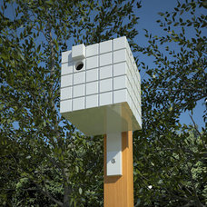 Modern Birdhouses by neoshed.com