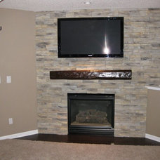 Contemporary Fireplace Accessories by FauxWoodBeams