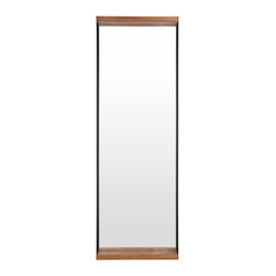 Blu Dot - Blu Dot Mirror Mirror - Large - As you know, it's a good idea to take a final glance in a mirror before you head out into the world. This stunning mirror gives you the opportunity to stay stunning as well, as you put wild hair in place or check those nostrils. Whew!