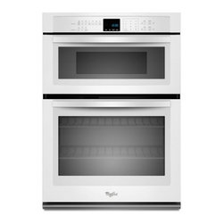 "Whirlpool - WOC54EC0AW 30"" Single Electric Wall Oven With 5.0 Cu. Ft. Self-Cleaning  Microwa - The Whirlpool WOC54EC0A features am amazing64 Cu Ft total capacityThe main oven has a 50 Cu Ft capacity and the microwave oven has a 14 Cu Ft capacity This Combination Microwave Wall Oven will satisfy all fo your cooking needs With SteamClean cleanin..."