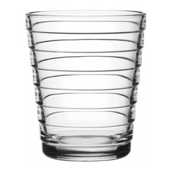 Iittala - Aino Aalto Tumbler, 7.75 Oz., Clear - Express yourself stylishly with these exquisite tumblers. Delightful to hold, look at and drink from, they bring a classic modern touch to your table.