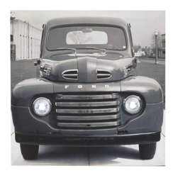 Westland - Ford F-1 1940's Truck Lighted Hanging Wall Art Canvas, Black and White - This gorgeous Ford F-1 1940's Truck Lighted Hanging Wall Art Canvas, Black and White has the finest details and highest quality you will find anywhere! Ford F-1 1940's Truck Lighted Hanging Wall Art Canvas, Black and White is truly remarkable.