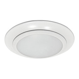 """Sea Gull Lighting - Sea Gull Lighting 14604S-15 Traverse 6"""" LED 40000K Retrofit Recessed Light - Traverse LED Downlight delivers the performance of incandescent downlights while reducing energy and operating cost by 80% and requiring virtually no maintenance. Ideal for general lighting in residential and commercial applications, the damp rated Traverse can be used for shower applications as well. The Traverse LED downlight is also an excellent alternative to costly fire rated recessed housings."""