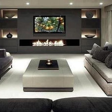 Contemporary Living Room by TKCS Innovations Inc.