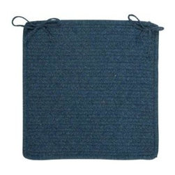 Colonial Mills - Colonial Mills Allure Polo Blue Braided Chair Pad Set of 4 AL59A015X015S - Shop for Furniture at The Home Depot. Sleek lines and fashionable hues offer a modern twist to the heathered look and warmth of this flat braid rectangle. Reversible for twice the wear. Made in the USA.