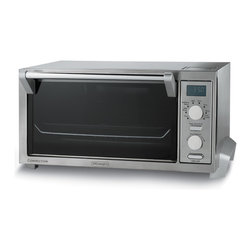 DeLonghi - Delonghi DO1289 Digital Convection Toaster - The Delonghi DO1289 Esclusivo 6-slice toaster oven lets you make enough toast for the whole family all at the same time.  With the six pre-programmed toast settings time and temperature are preset for room temperature or frozen bread.