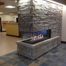 Contemporary Fireplaces by Colorado Custom Fireplace