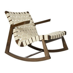 Rapson - Rapson | Rapson Greenbelt® Rocker with Arms - The Rapson Greenbelt® Rocker with Arms is available online exclusively from YLiving.  Design by Ralph Rapson, 1939.