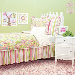Doodlefish - Spring Paisley Bedding Collection - Spring Paisley Bedding Collection