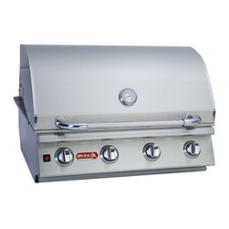 "Lonestar - 4-Burner 30"" SS Built-In Gas Grill, Natural Gas - This is an Island Component grill. Installation required. The Lonestar Select grill is a 4-Burner 30 Stainless Steel Built-In Gas Barbecue Grill. - 60,000 BTU's -304 Stainless Steel Construction -4 Welded Stainless Steel Bar Burners -Single Piece Dual Lined Hood -Piezo igniters /Zinc Knobs -Solid Stainless Steel Grates -Heavy Duty Thermometer -Warming Rack 210 Sq. in.-Twin Lighting System -Smoker Box -Cooking Surface 810 Sq. in.-CSA Approved."