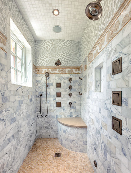 Transitional Bathroom by DeLeers Construction, Inc.