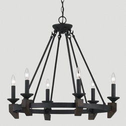 World Market - Whittaker Chandelier - Putting a fresh, modern twist on the gothic chandelier, our Whittaker Chandelier makes a bold statement in any room. This dramatic fixture adds instant design appeal to your décor at a brilliant price.