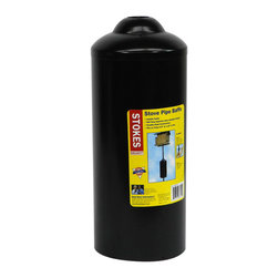 Hiatt Manufacturing - Stove Pipe Baffle - Installs easily. Will stop squirrels when installed properly. Durable steel construction. Fits on poles 0.5 inch to 1.25 inch in diameter.